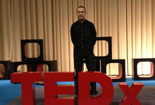 乐剑峰主讲TEDx演讲