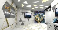 6宁波国家广告产业园室内布景